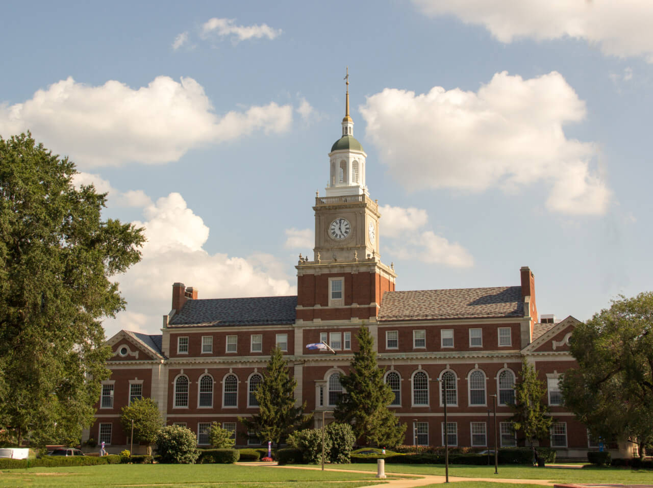 Photo of Founders Library at Howard University
