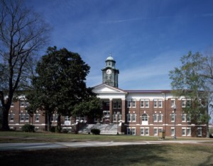 a dorm building at Tuskegee University