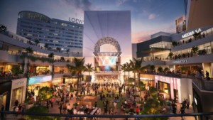 rendering of revamped Ovation Hollywod