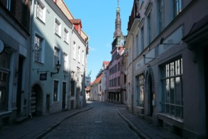 A street in Estonia, home of the future Tallinn Architecture Biennale
