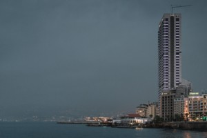 Photo of Beirut waterfront
