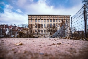 Berghain, an industrial club in an industrial setting