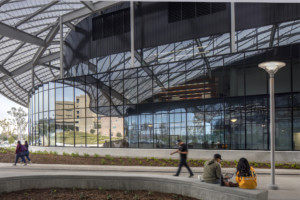 The Cal Poly Pomona Student Services Building