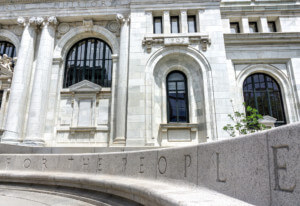 Image of the Carnegie Library in Washington D.C.