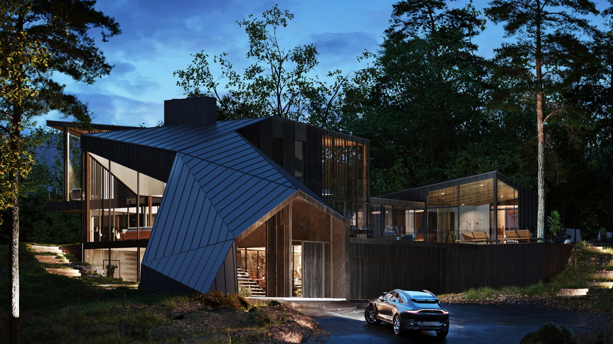 Aston Martin Teams With S3 Architecture For Its First Secret Lair Home