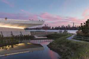a riverfront park in Queens, a Awards for Excellence in Design winner