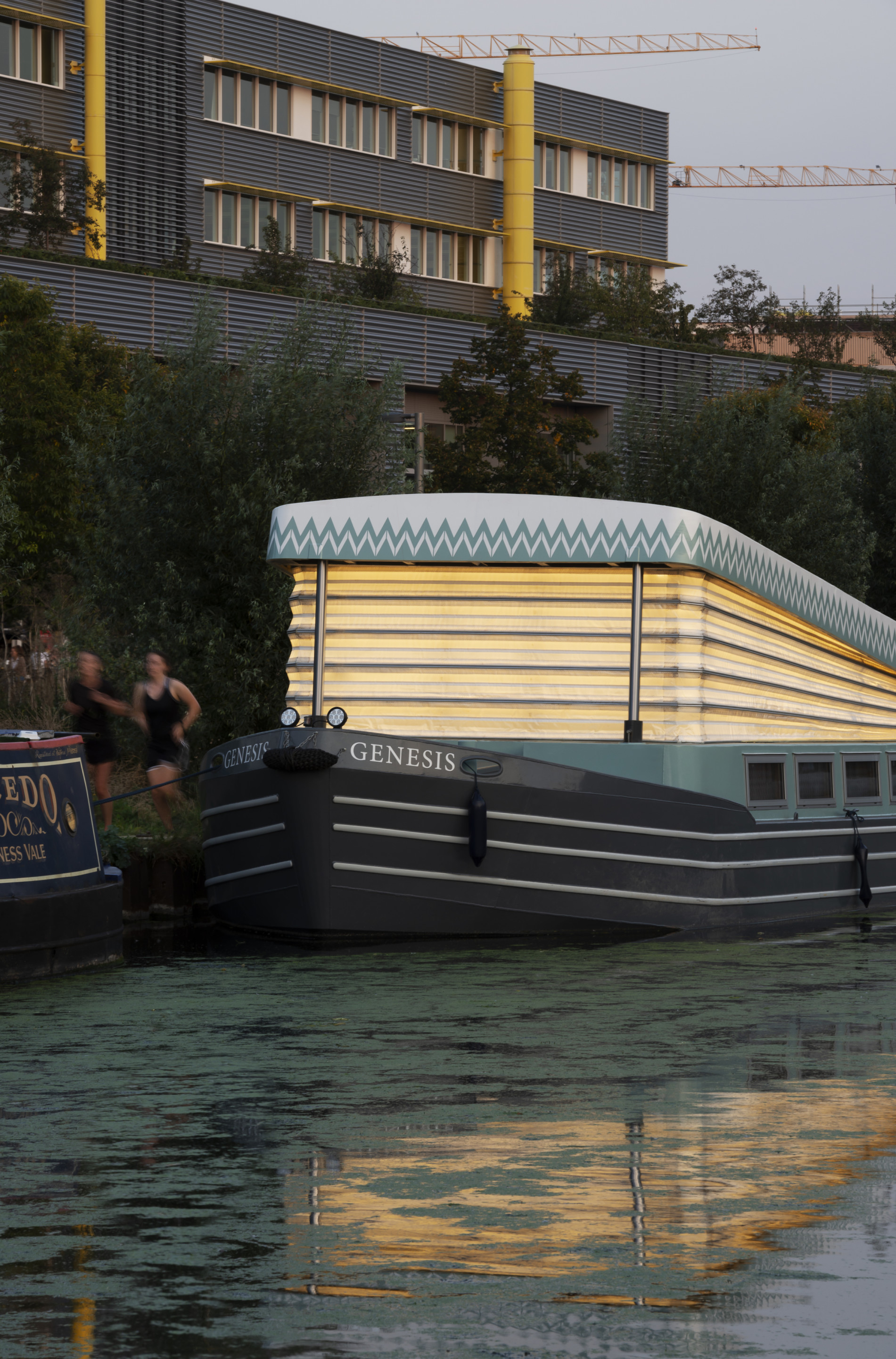 a floating church-boat in london