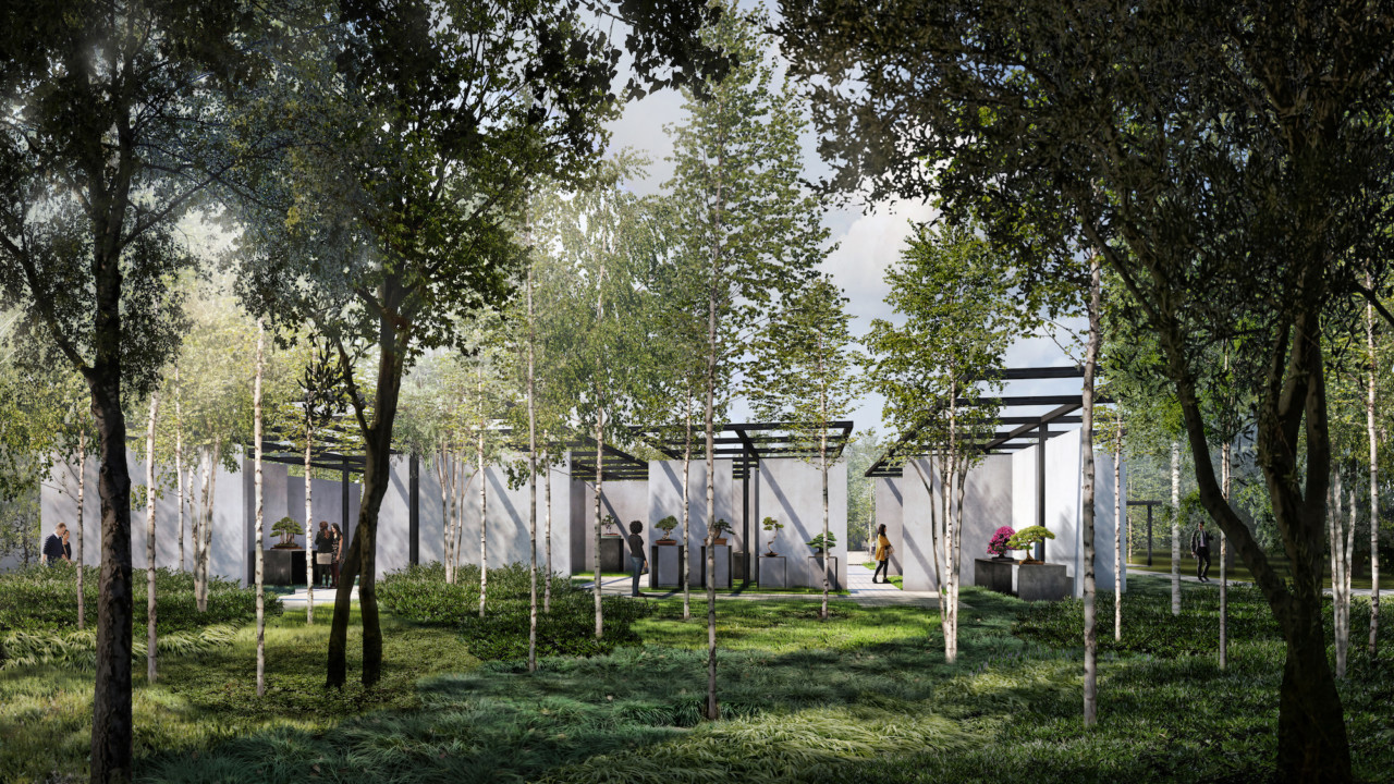 Reed Hilderbrand And Trahan Architects Reveal Their Vision For The National Bonsai Penjing Museum In Washington D C