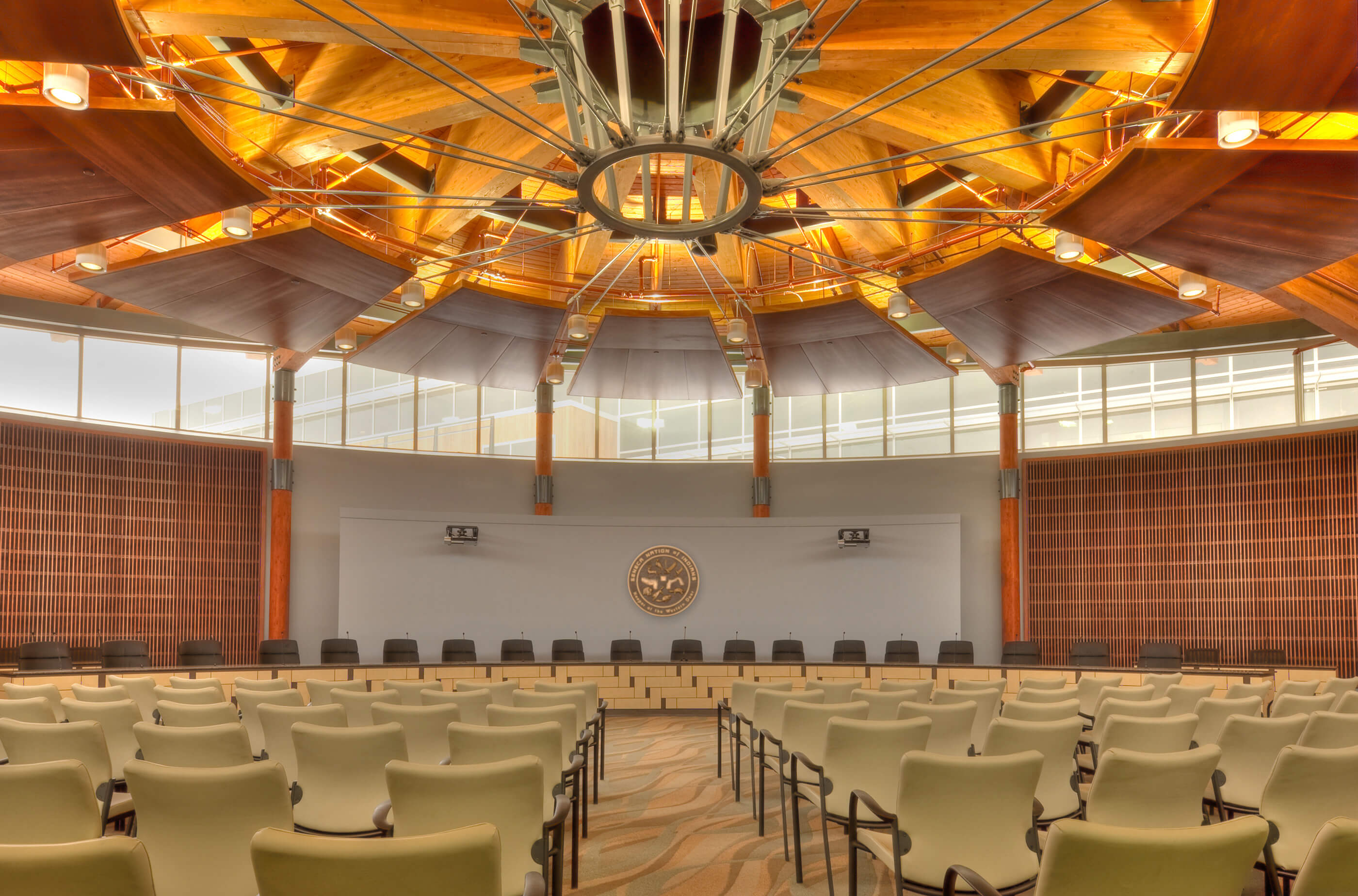 Indigenous traditions in North America emphasize long-range resilience; engineered timber is helping realize those principles