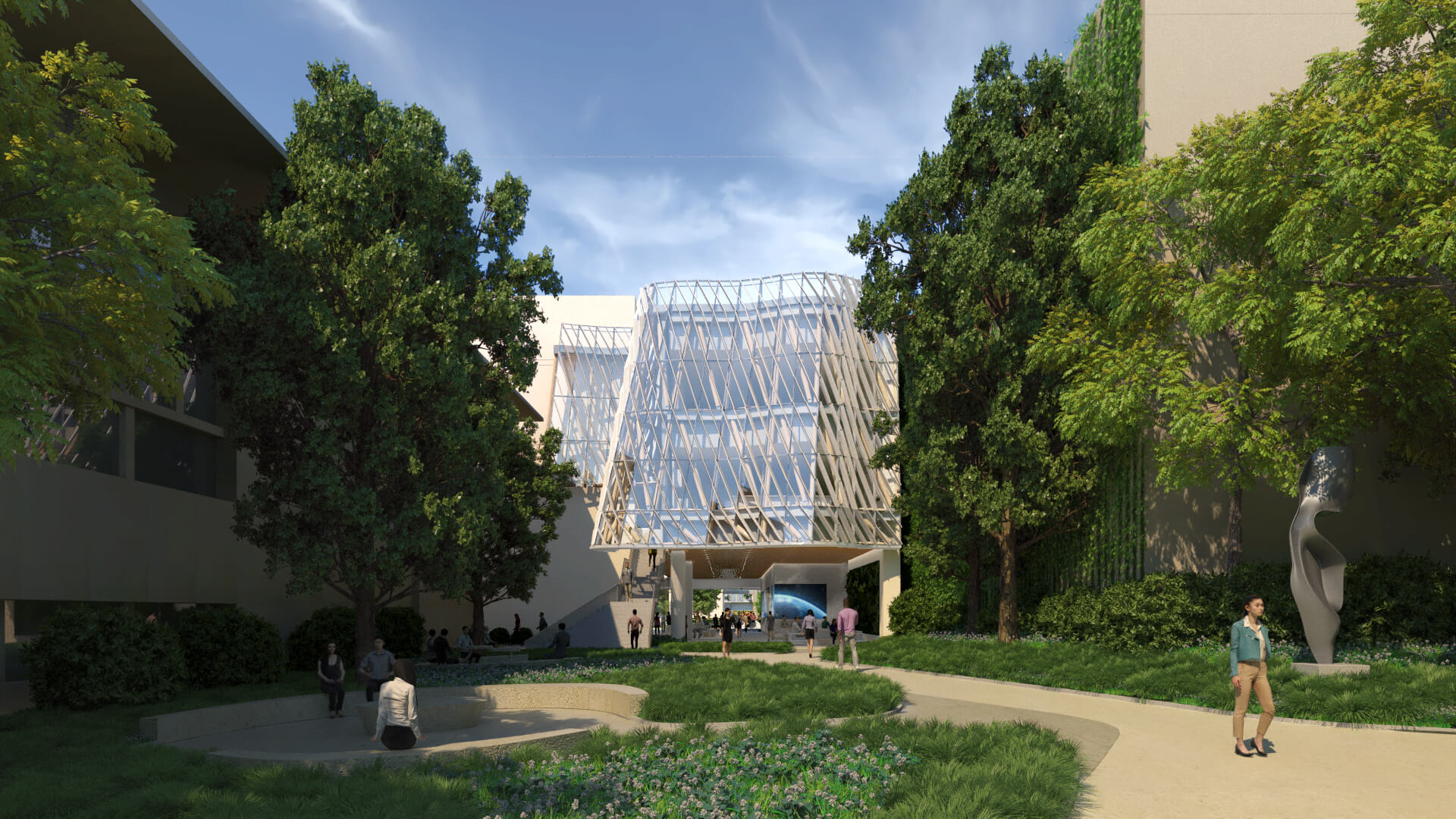 Caltech Calendar 2022.Yazdani Studio Previews A Glass Cloaked Sustainability Research Hub At Caltech